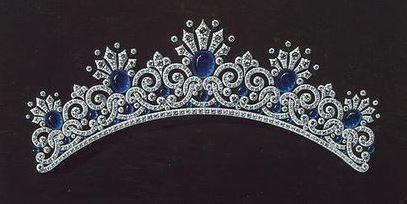 Empress Alexandra Feodorovna's Kochli Sapphire Tiara 5