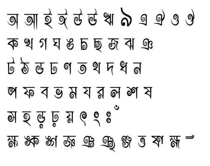 Rajon Shoily fonts download