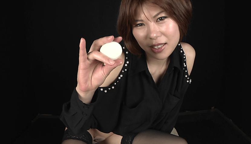 肛門覚醒!未知のアナルプレイ ゆで卵を何個も呑み込み産卵する変態女!