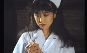看護婦の白衣が鮮血に染まる切腹 割腹 自刃映像!凄艶のナルシシズム