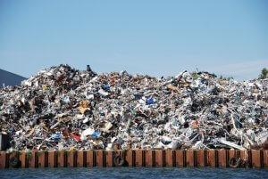 Afvalverwerkende industrie