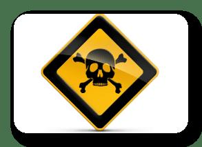 Vijf toxidromen bij chemische blootstelling