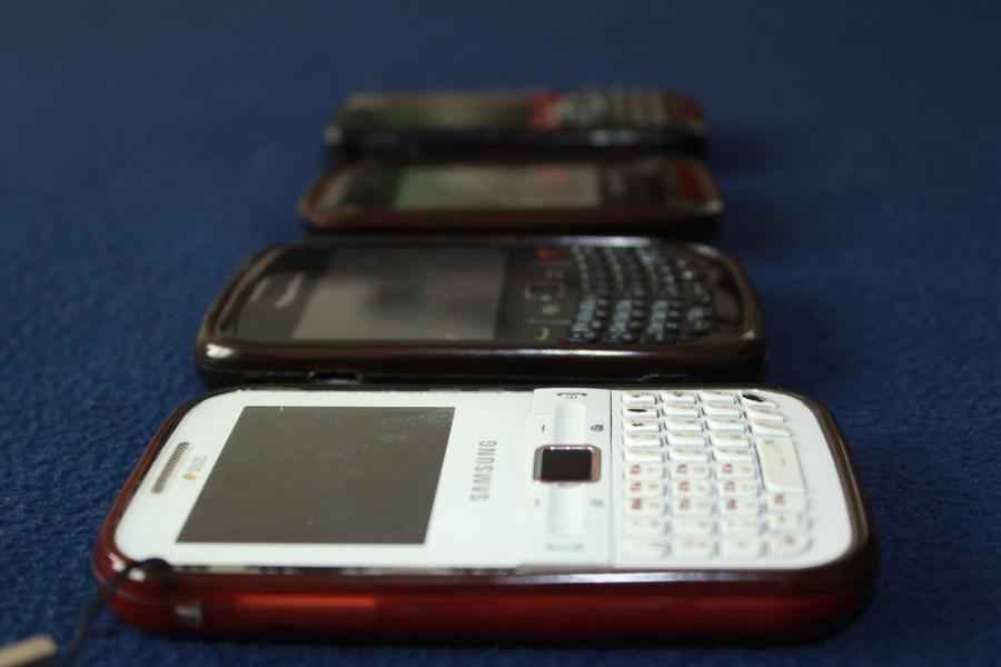 mobiele telefoons onderdeel van e-afval