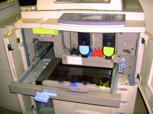 Zeldzame longaandoening in de kopieerwinkel