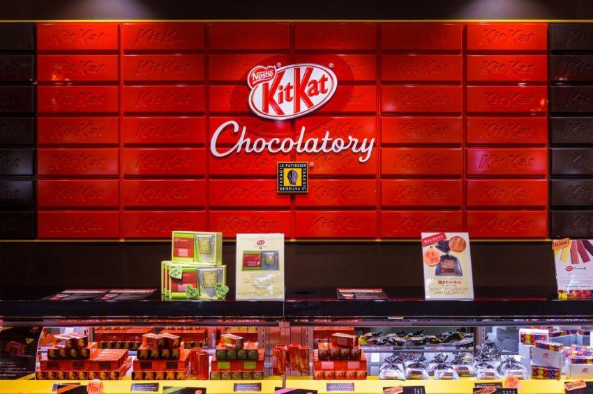 kitkat popup storen in Utrecht