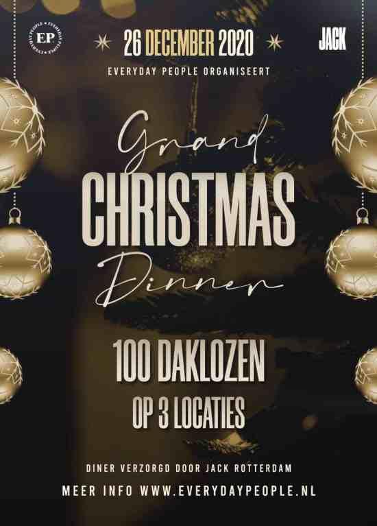 Dak En Thuislozen Kerst Diner Everyday People Rotterdam