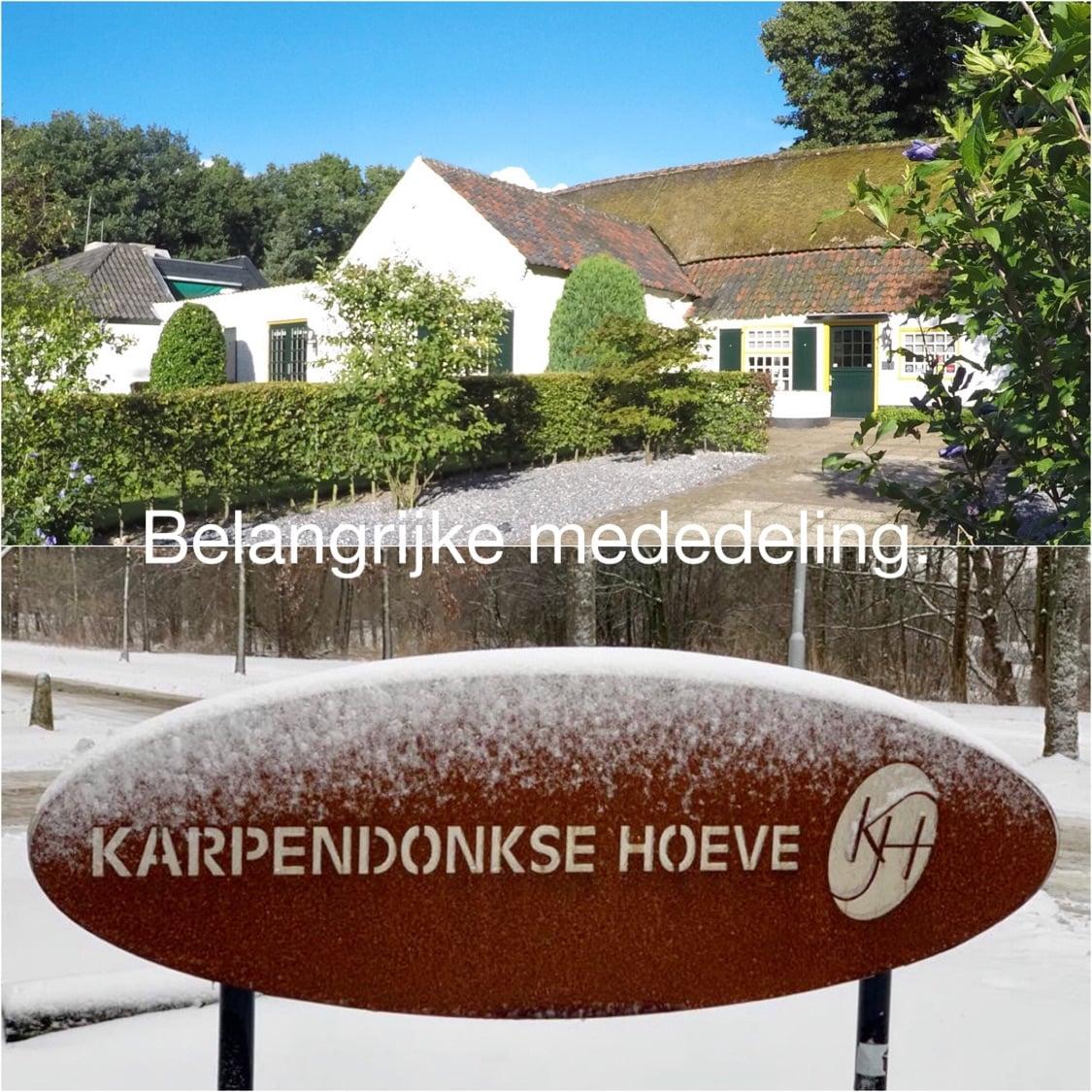 Karpendonkse Hoeve Einhoven Verkocht