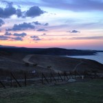 Sinemorets in the evening