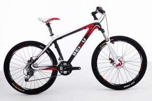 Carbon frame mountain bike - Beiou Rockshox REBA