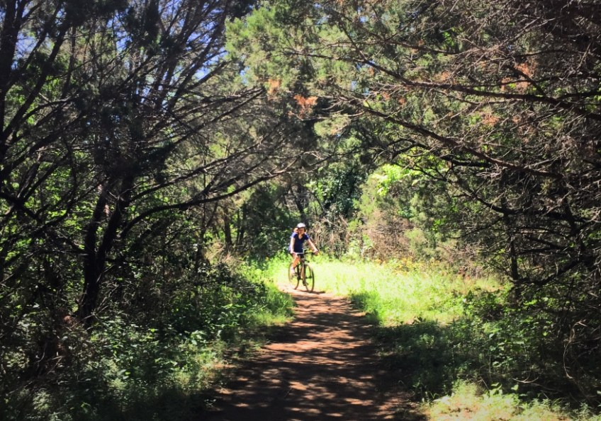 Texas Hill Country Mountain Biking