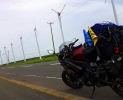 オロロンライン 北海道 バイク