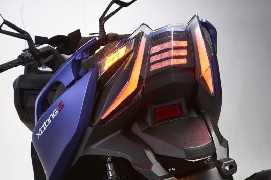 KYMCO Xciting S 400i ABS Heck Beleuchtung