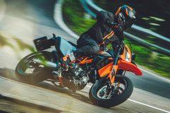 KTM 690 SMC R 2021 Action