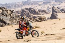 Toby Price - Red Bull KTM Factory Racing - 2021 Dakar Rally Stage Eight