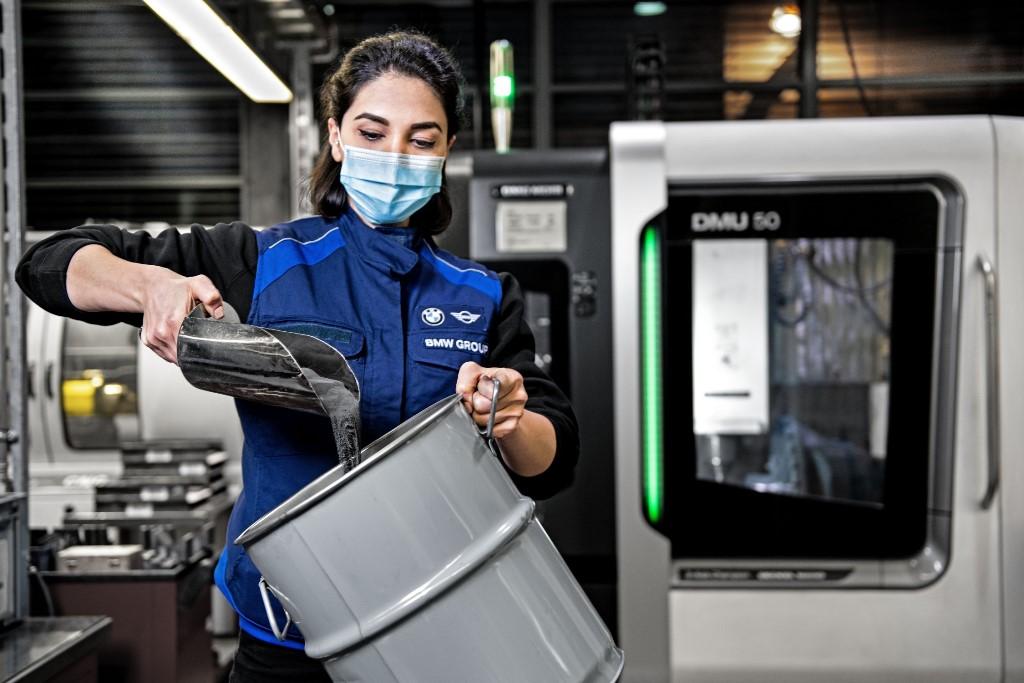 BMW Group vytváří uzavřený materiálový koloběh pro výrobu wolframových nástrojů s cílem chránit cenné zdroje