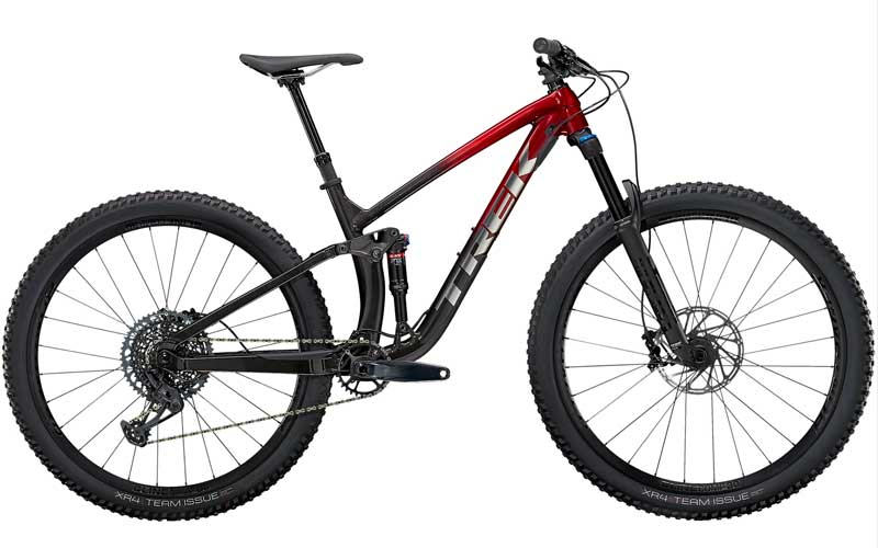 TREK FUEL EX 8(Rage Red to Dnister Black Fade)