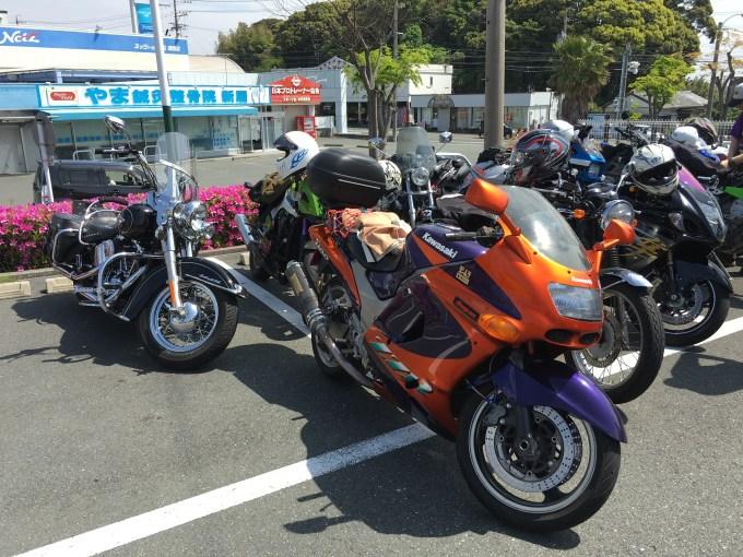 ZZR1100 バイク ツーリング オートバイ アメリカン スポーツ カワサキ