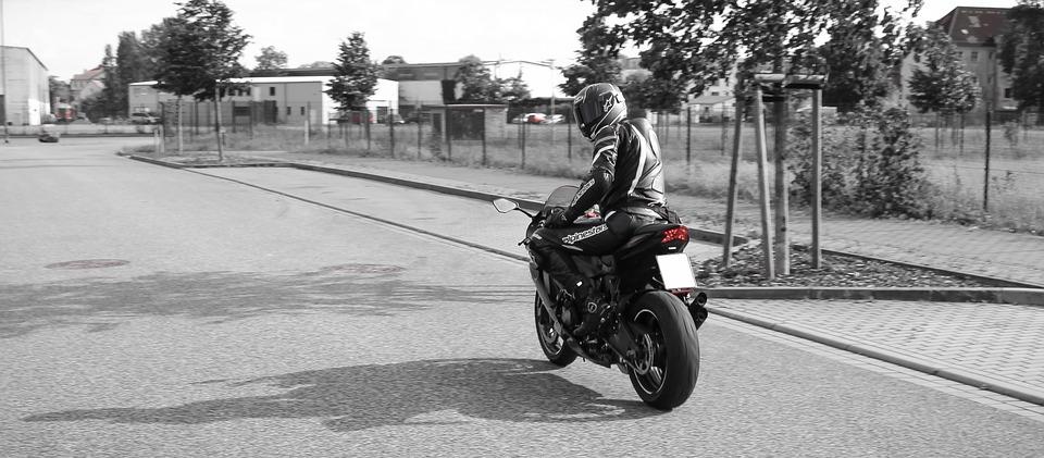 バイク 男性 ライダー