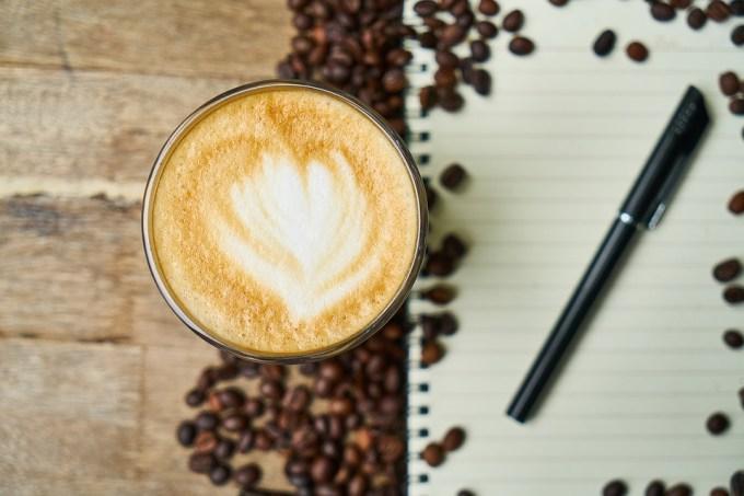 ノート コーヒー ペン