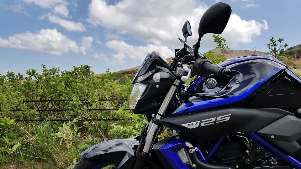 バイク 自然 夏 スポーツ 山 オートバイ