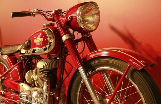 輸入車 トライアンフ オートバイ バイク
