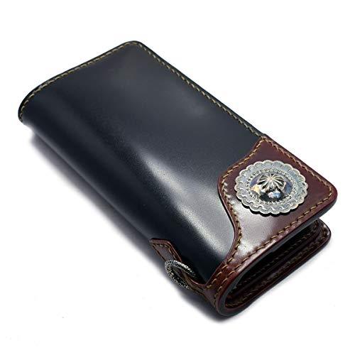 フラットヘッドの長財布