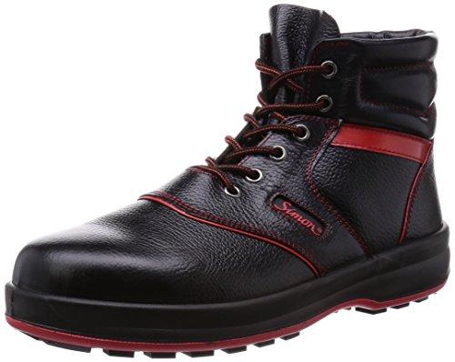[シモン] 安全靴 中編上 JIS規格 耐滑 耐油 革製 ハイカット ライト SL22