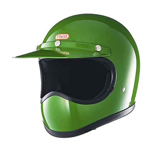 TT&CO. トゥーカッター スタンダード グリーン フルフェイスヘルメット