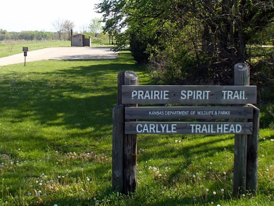 Prairie Spirit Trail Carlyle Sign