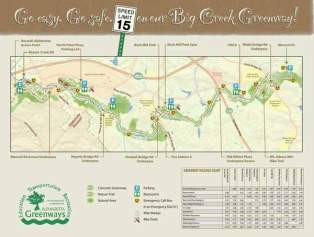 Updated trail maps created by Bike Alpharetta