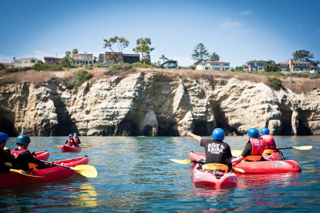 la jolla kayak and snorkel tour