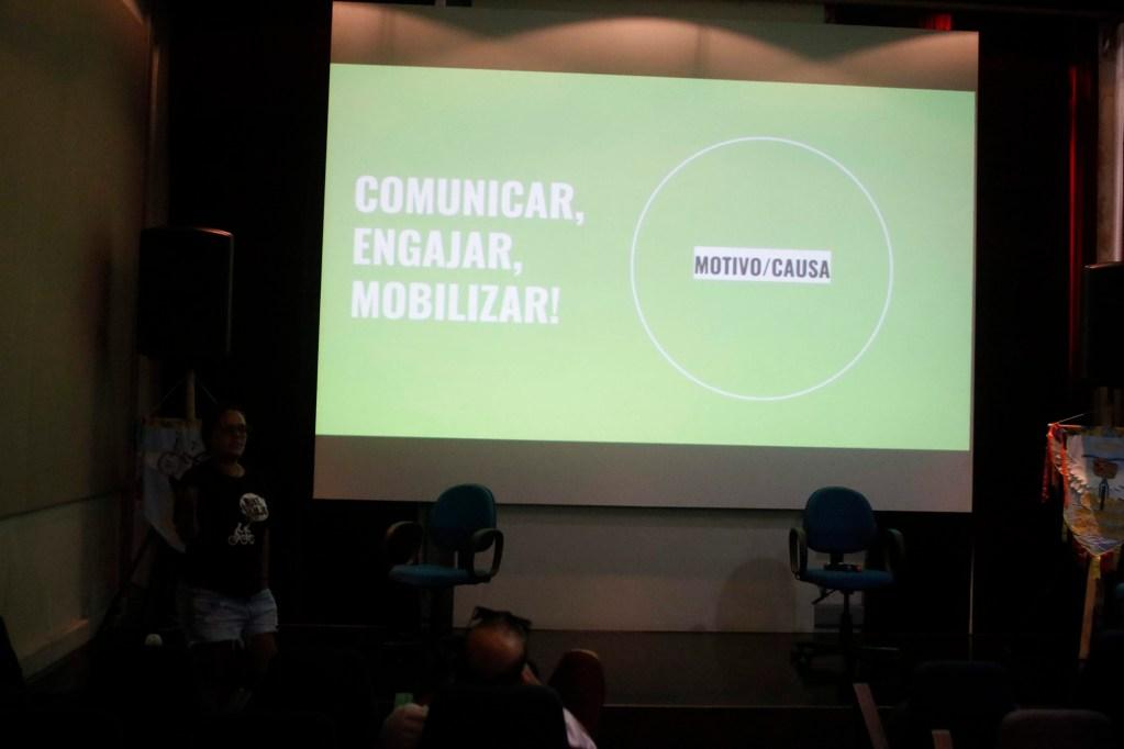 Comunicação para Engajar com Marina Castilho, articulação Nacional