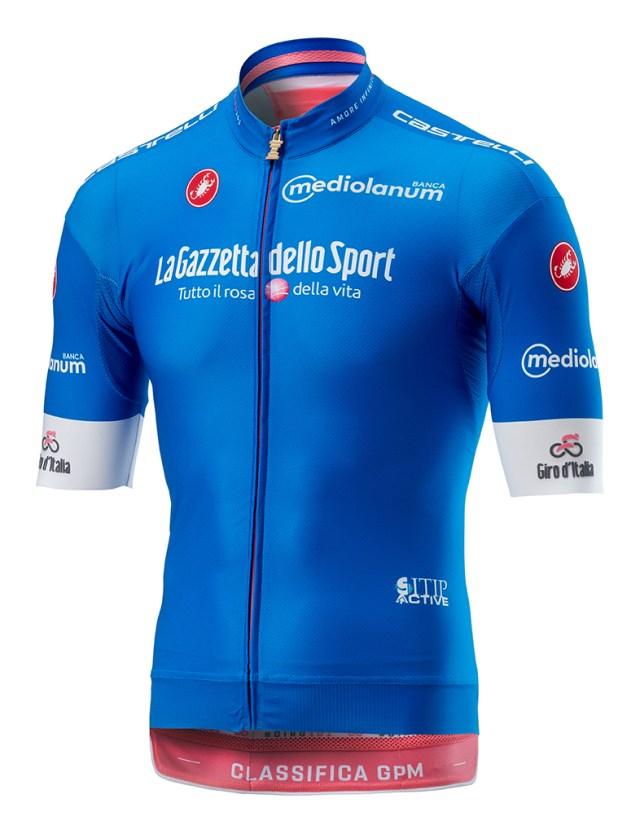 Camisa Azul Giro 2018
