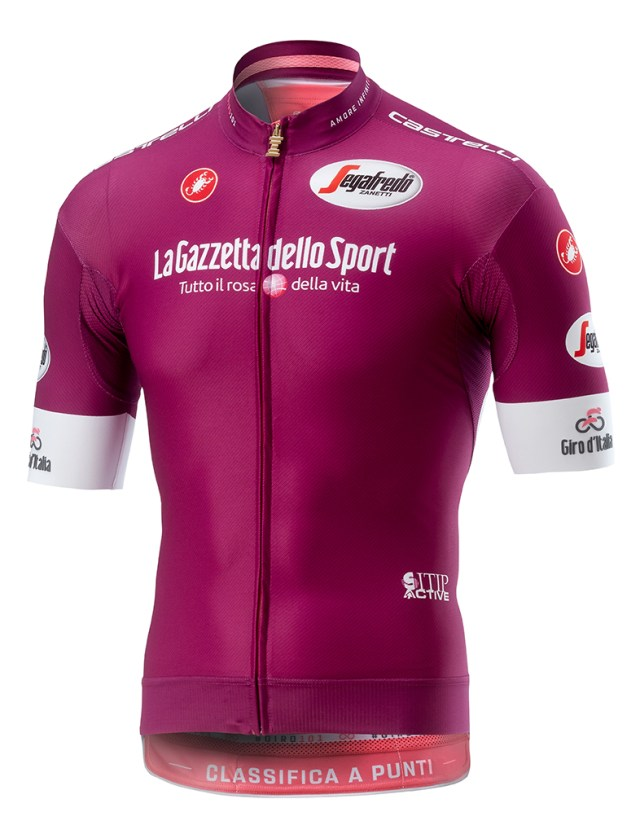 Camisa Vinho Giro 2018
