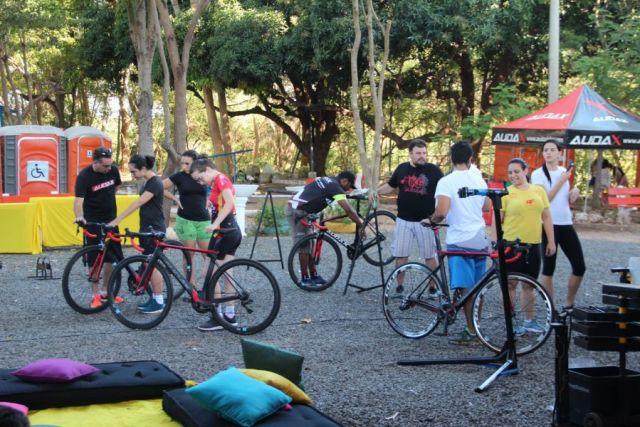Teste Ride com os alunos da R.F. Assessoria Esportiva. Foto Equipe Audax