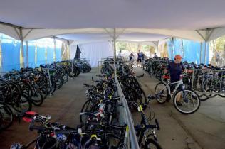 Bicicletario do Shimano Fest (Filipe Mota FS Fotografia)
