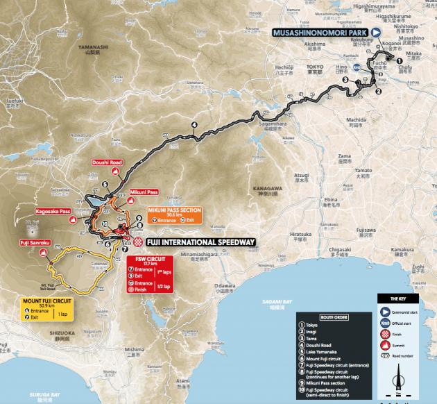 Olimpíadas Tóquio 2020 - UCI aprova percurso do ciclismo de estrada (3).png