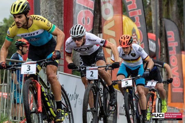 Cocuzzi liderou grande parte da prova, mas foi ultrapassado por holadês (Foto Marcelo Rypnl)