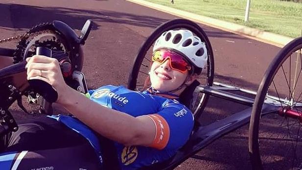Mariana Garcia estreando no site Bike aos pedaços!