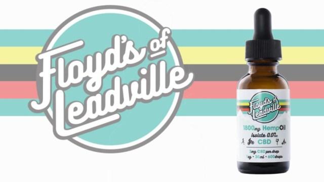 O Floyd de Leadville mostra seu isolado mais concentrado de Canabidiol (1)