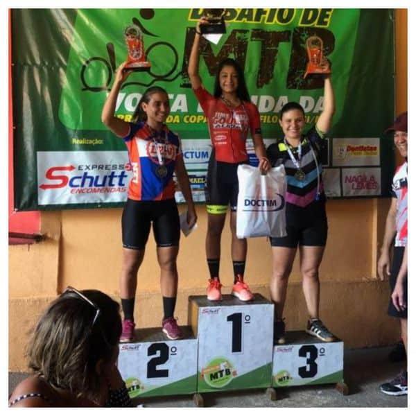 Ana competiu na 'Sub 30' contra atletas mais experientes e foi a vencedora, Foto Arquivo Pessoal.