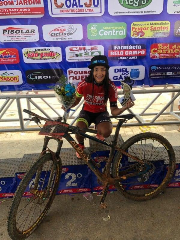 Promessa do Mountain Bike Feminino, Ana Laura já tem segundo titulo do ano. Foto Arquivo Pessoal..jpeg