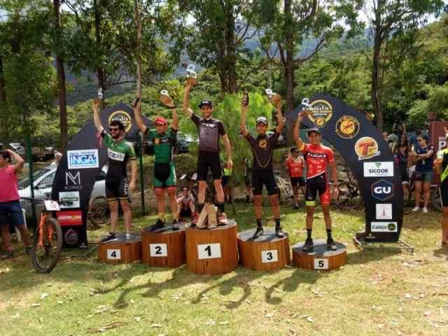 Rodolfo fez o top 5 na categoria e foi 12º colocado geral. Foto Arquivo Pessoal.