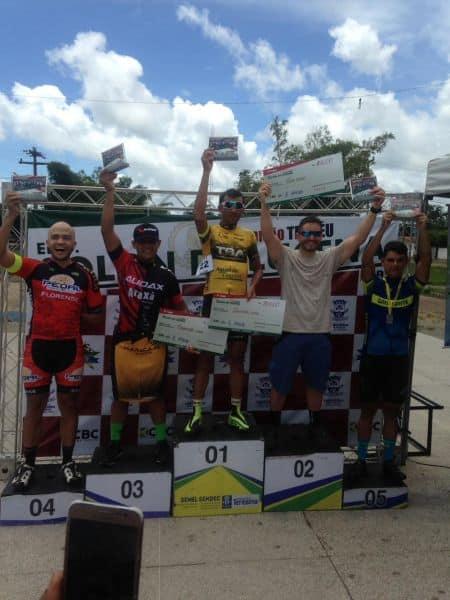 Jonas Silva leva o bronze no ciclismo de estrada. Foto Arquivo Pessoal.
