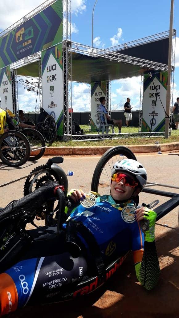 Mariana Garcia conquista 2 medalhas de Ouro na 2ª Etapa da Copa Brasil de Paraciclismo (2)