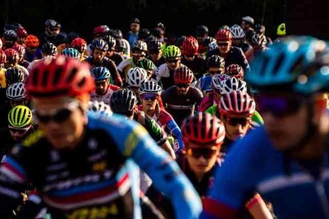 A prova de MTB contou com cerca de 200 ciclistas inscritos