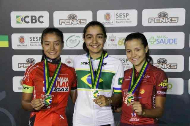 Omnium fecha 3º dia de provas do Brasileiro de Ciclismo de Pista Junior (1)