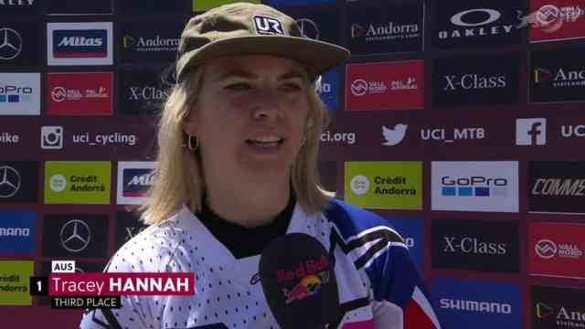 Resultados do DH na 3ª etapa da Copa do Mundo 2019 em Vallnord, Andorra - Feminino (8)