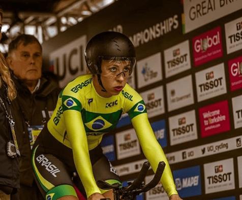 Ana Polegatch fica em 5º no contrarrelógio dos Jogos Mundiais Militares 1