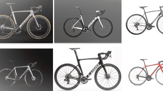 Comparativo bikes de estrada